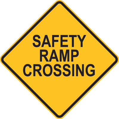 SAFETY RAMP CROSSING