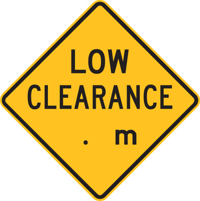 LOW CLEARANCE.M (AHEAD)